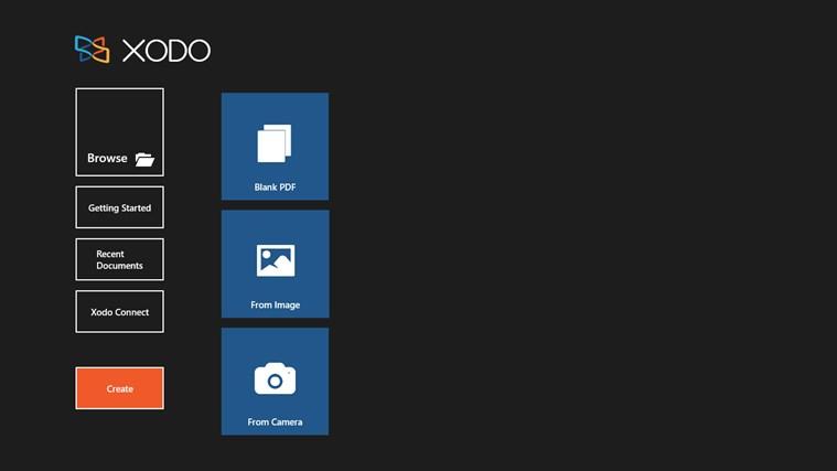 Xodo PDF Reader & Editor for Windows 8 and 8 1