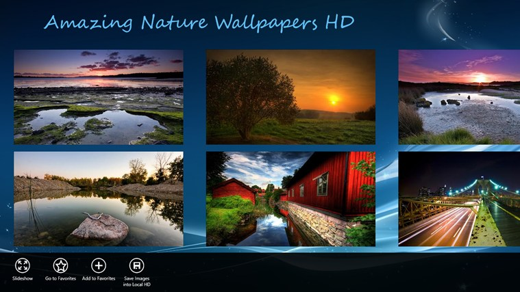 Amazing Nature Wallpapers HD For Windows 8 And 8.1