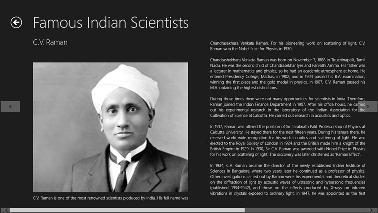indian scientists for windows 8 and 8 1