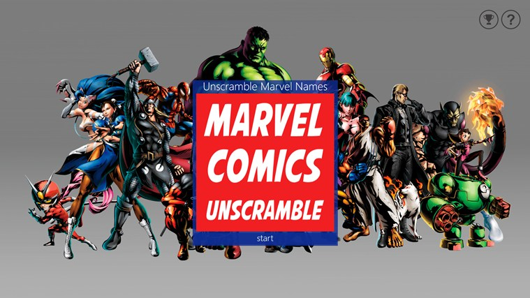marvel comics windows 8