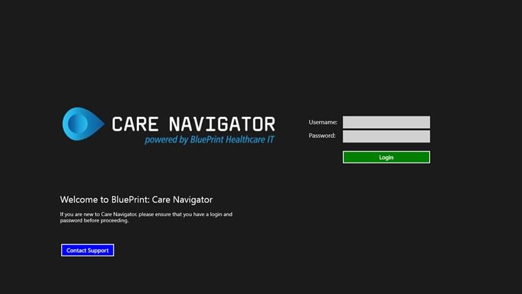 Blueprint care navigator for windows 8 and 81 blueprint care navigator malvernweather Gallery