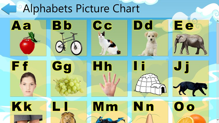Learn ABC for Kids for Windows 8 and 8.1