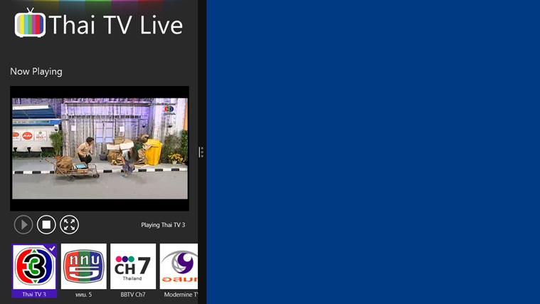 Thai TV Live for Windows 8 and 8.1