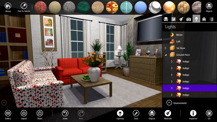 Live Interior 3D Free For Windows 8 And 8.1