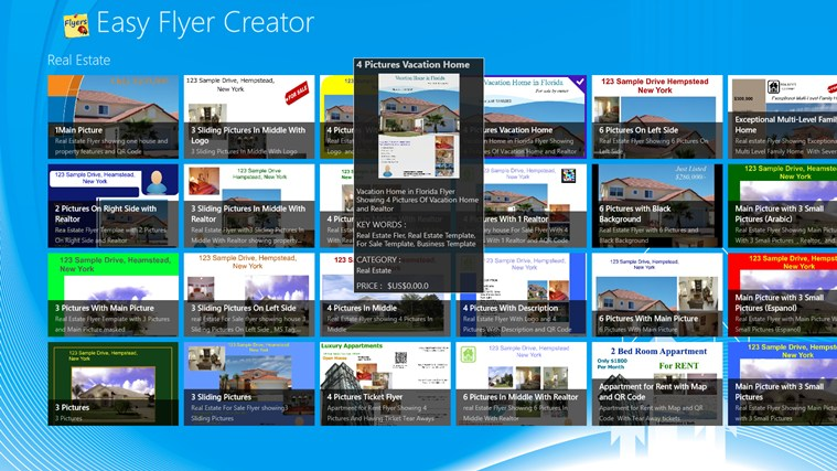 easy flyer creator for windows 8 and 8 1
