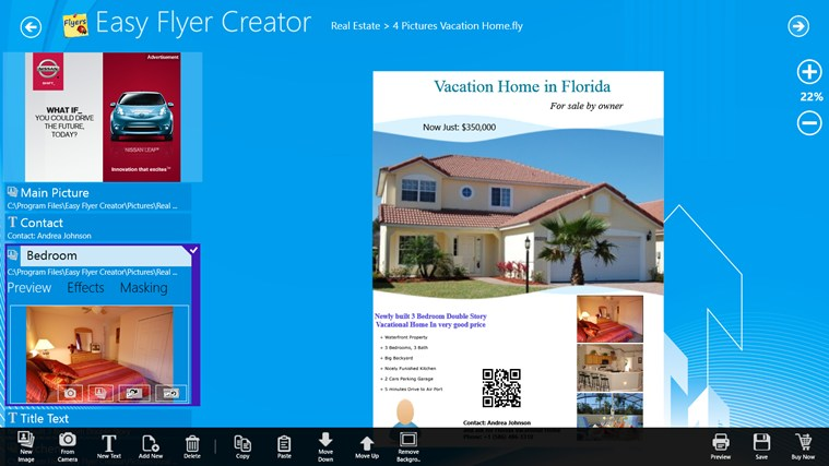 Easy Flyer Creator For Windows 8 And 81