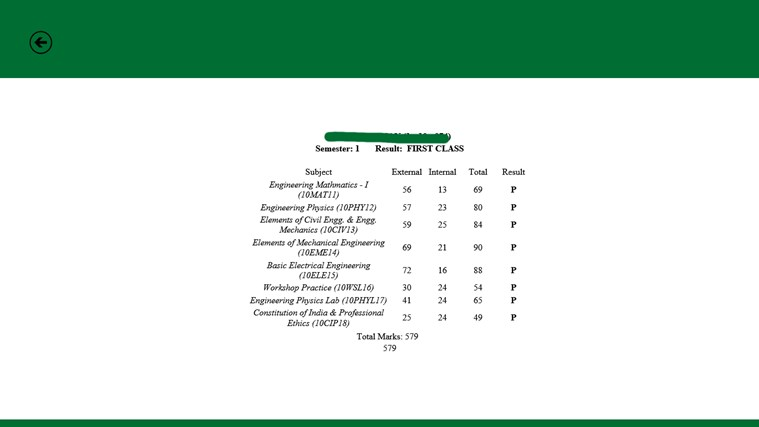 VTU Results for Windows 8 and 8 1