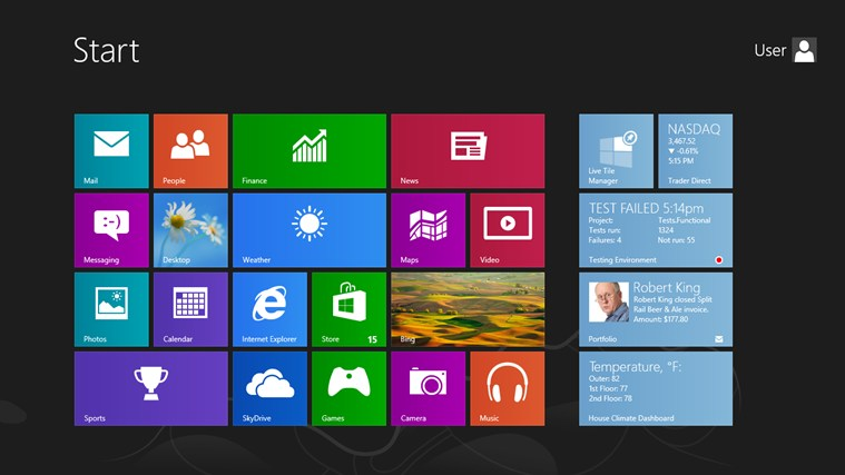 Devexpress Live Tile Manager For Windows 8 And 8 1