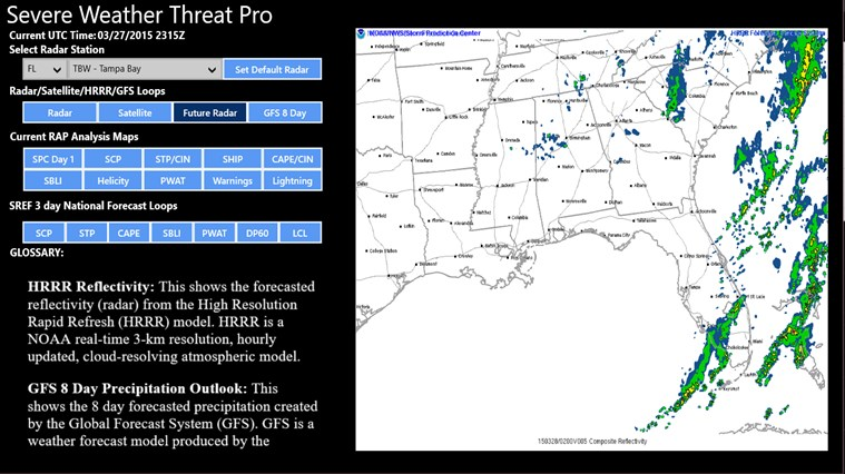 Severe Weather Threat Pro for Windows 8 and 8 1