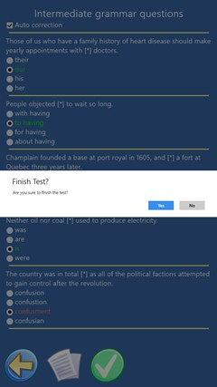 English Grammar Quiz for Windows 8 and 8 1