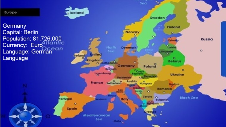 European Countries And Capitals!