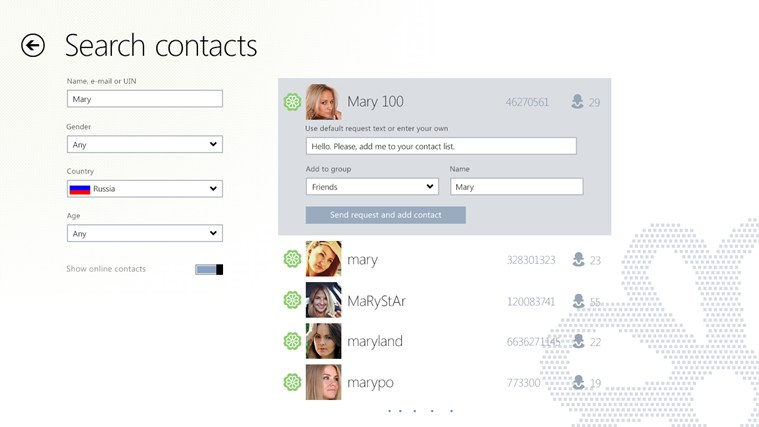 ICQ for Windows 8 and 8 1