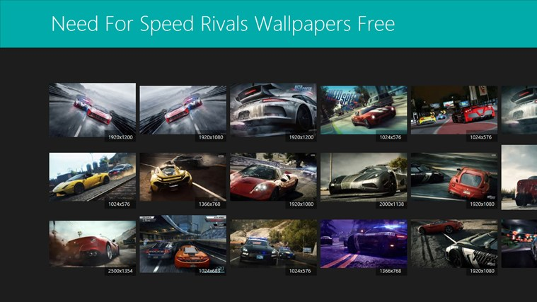 need for speed rivals wallpapers