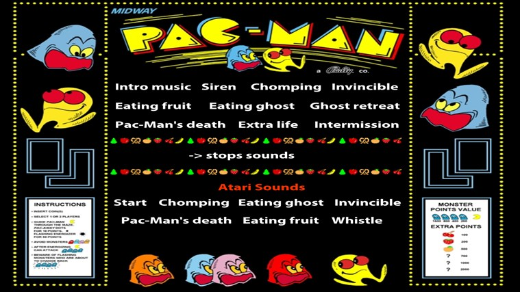 Pacman Soundboard for Windows 8 and 8 1