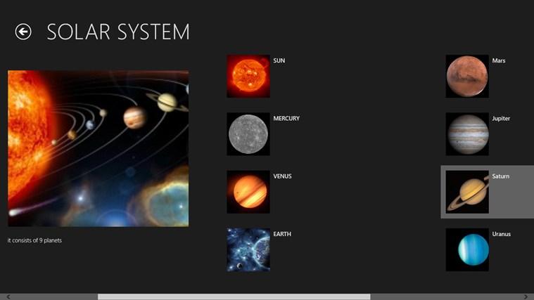 solar system app - photo #22