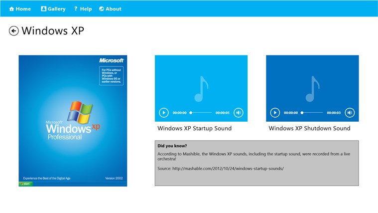 Collection of Windows Startup Sounds for Windows 8 and 8 1