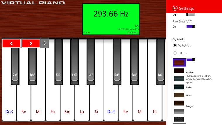 Virtual Piano for Windows 8 and 8 1