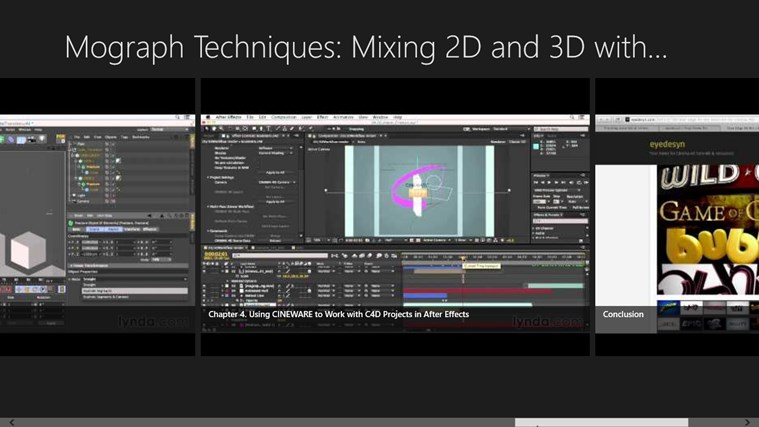 Mograph Techniques: Mixing 2D and 3D with After Effects and