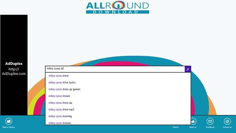 Allround Music Download FREE for Windows 8 and 8 1
