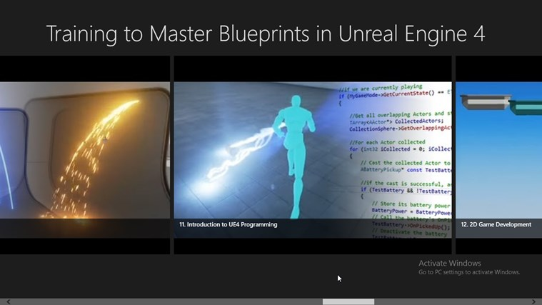 Training to Master Blueprints in Unreal Engine 4 for Windows