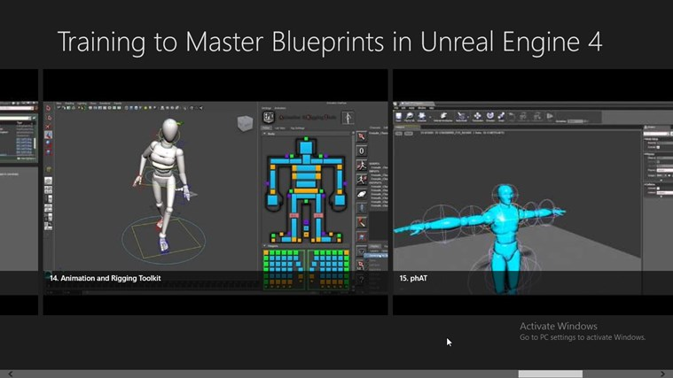 Training to Master Blueprints in Unreal Engine 4 for Windows 8 and 8 1