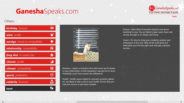 GaneshaSpeaks com for Windows 8 and 8 1