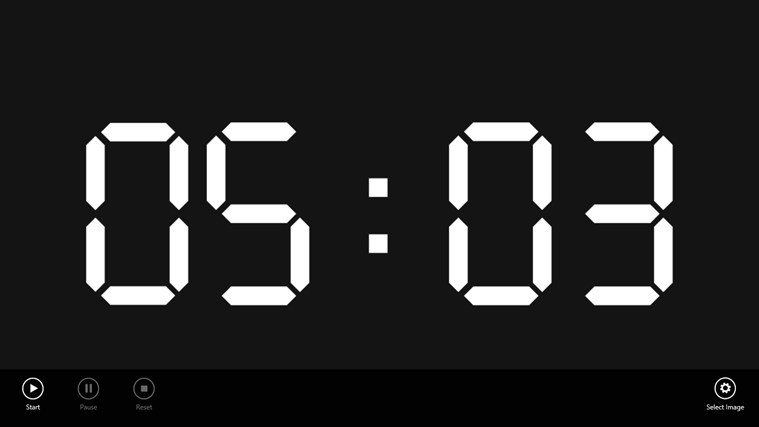 Simple Countdown Timer for Windows 8 and 8 1