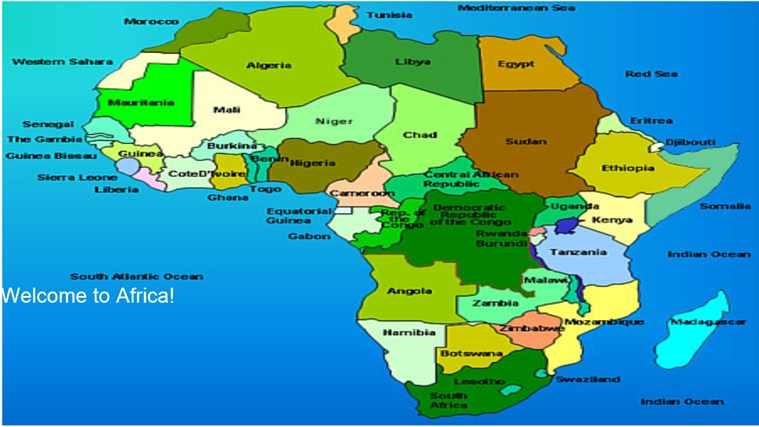 African Countries And Capitals For Windows 8 And 8 1
