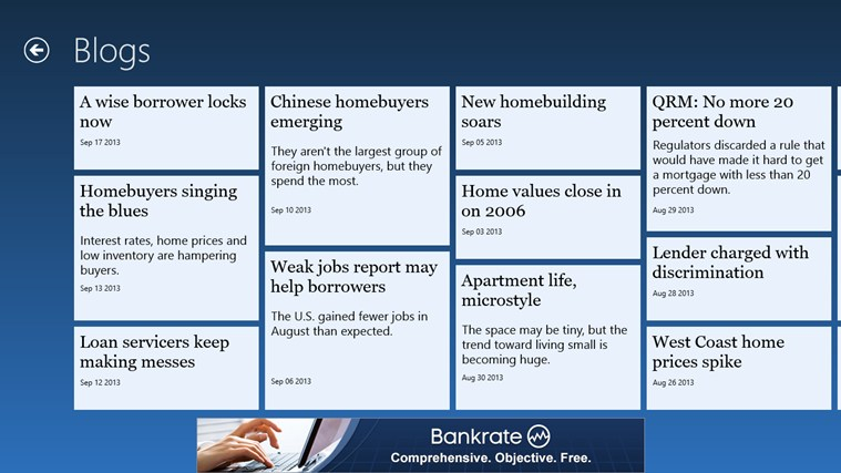 Bankrate Mortgage For Windows  And