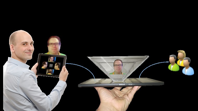 Video Hologram for Windows 8 and 8 1