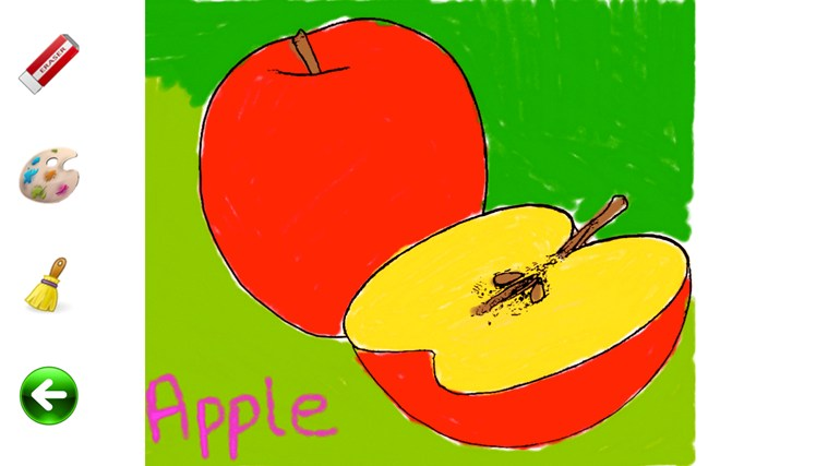 Fruit And Vegetable Coloring Pages For Kids For Windows 8