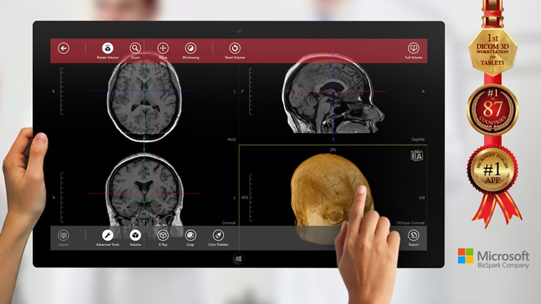 Navegatium DICOM Viewer for Windows 8 and 8 1