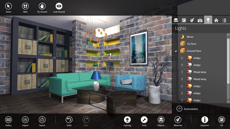 Live Interior 3D Pro For Windows 8 And 8.1