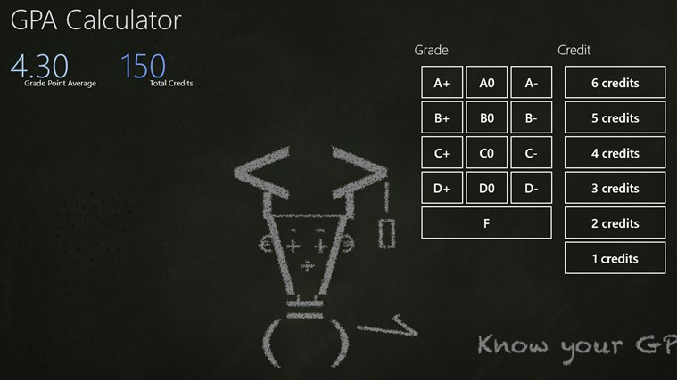 simple gpa calculator for windows 8 and 8 1