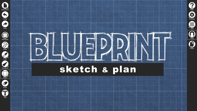 Blueprint sketch for windows 8 and 81 blueprint sketch malvernweather Images