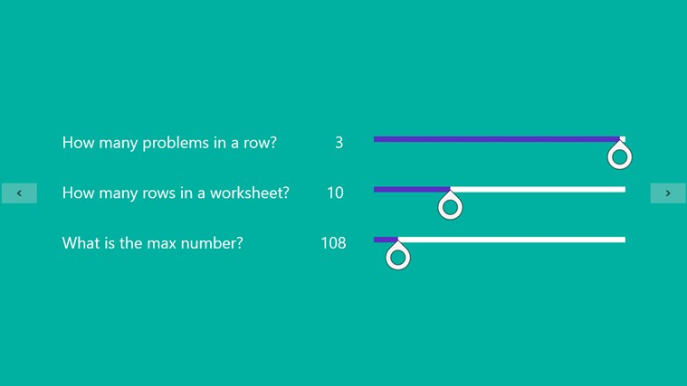 Absolute Value Worksheet for Windows 8 and 8.1