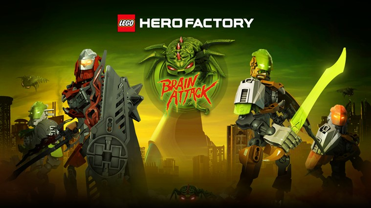 Lego Hero Factory Brain Attack For Windows 8 And 81