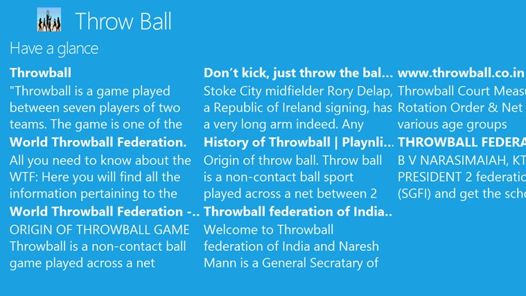 Throw Ball For Windows 8 And 8 1