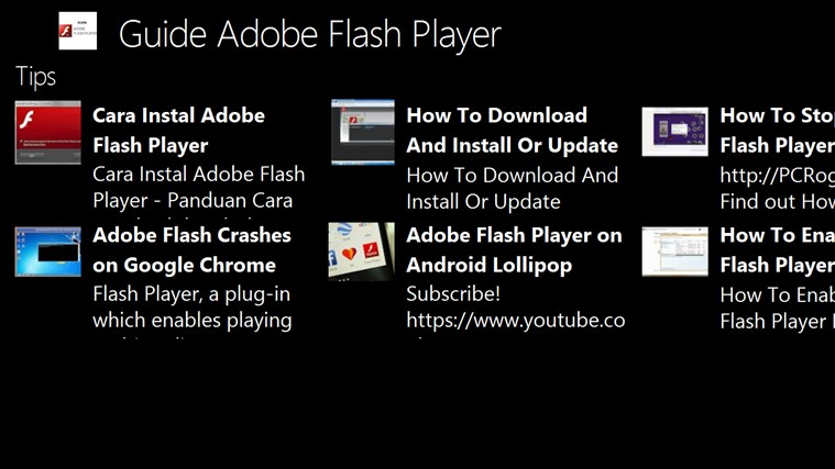 adobe flash player for windows phone 7 free download