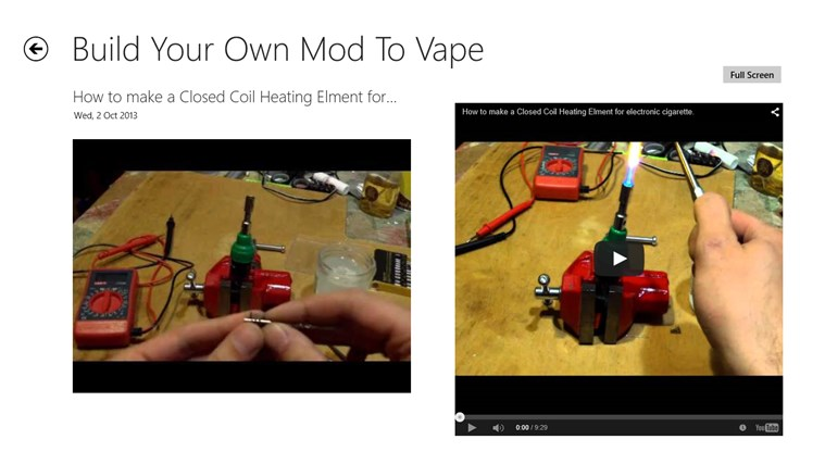 How To Create Your Own Mod To Vape for Windows 8 and 8 1