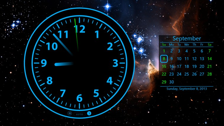 Calendar Live Wallpaper : Clock for windows and