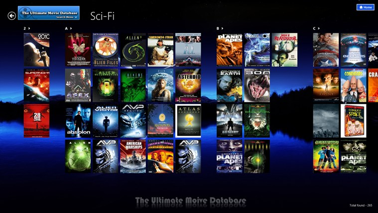 The Ultimate Movie Database for Windows 8 and 8 1