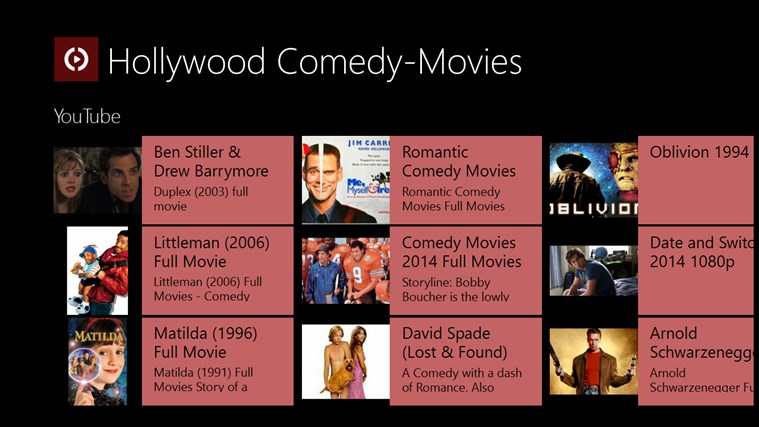 list of comedy movies 1996