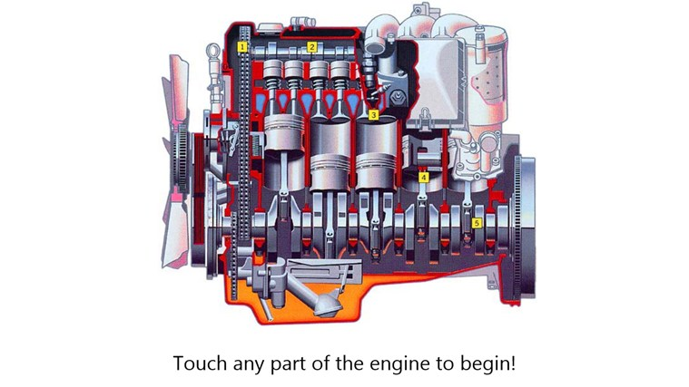 Anatomy of a Car Engine for Windows 8 and 8.1