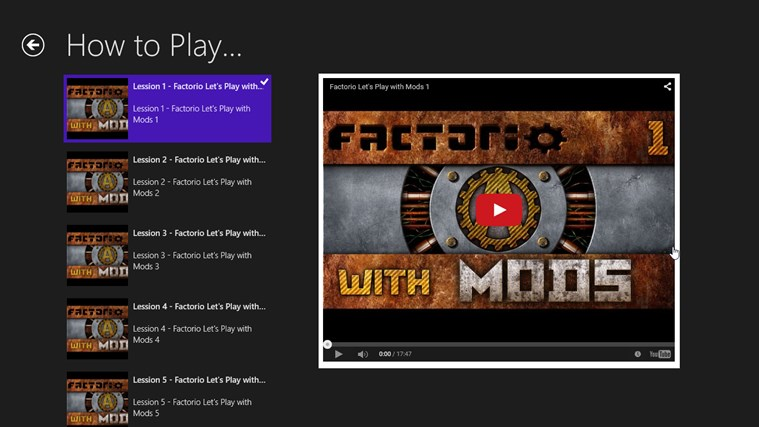 Tips About Play Factorio with Mods for Windows 8 and 8 1