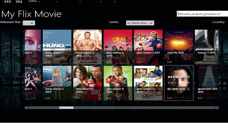 My Flix Movies For Windows 8 And 81-1866