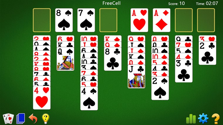 free cell game for windows 8.1