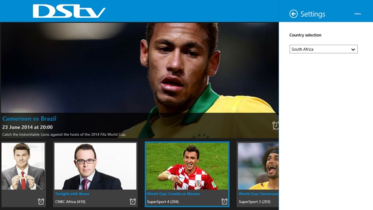 DStv Guide for Windows 8 and 8 1