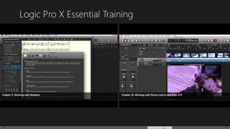 Logic Pro X: DAWs & MIDI sequence Essential Training for