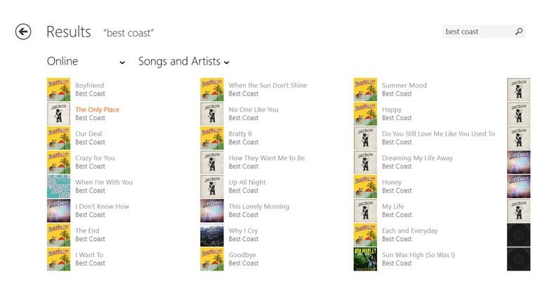 Musixmatch Lyrics & Music Player for Windows 8 and 8 1